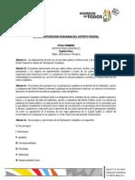 Ley de Participacion Ciudadana del Distrito Federal