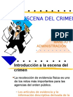 MANEJO DE LA ESCENA DEL CRIMEN.ppt