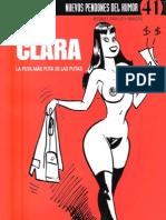 CLARA La mas puta de las putas Nuevos pendones del humor 41 Bernet Trillo y Maicas