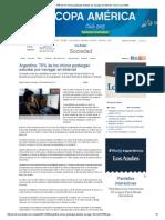 Argentina 70% de Los Chicos Postergan Estudiar io Los Andes