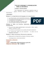 CURSO DE LENGUAJE Y REDACCION 2014.doc
