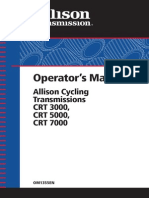 Allison Transmissions Operating Manual 2002 Small
