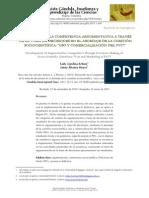 Dllo de La Competencia Argumentativa a Traves de Las Cuestiones Sociocientificas (1)