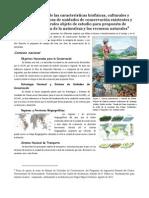 Evaluación de áreas para fines de conservación