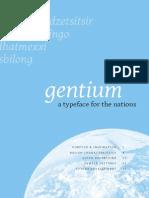 Gentium RU Spec