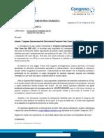 Carta Auspicio