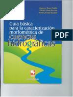 MORFOMETRIA CUENCAS HIDROGRAFICAS