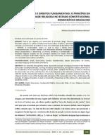 RBDC-18-225-Artigo Marcio Eduardo Pedrosa Morais (Religiao e Direitos Fundamentais o Principio Da Liberdade Religiosa)