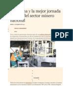 5_Antamina y La Mejor Jornada Laboral Del Sector Minero Nacional