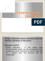 Stress Among Teachers