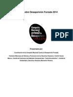 Informe sobre desaparición forzada. Campana Nacional 2014