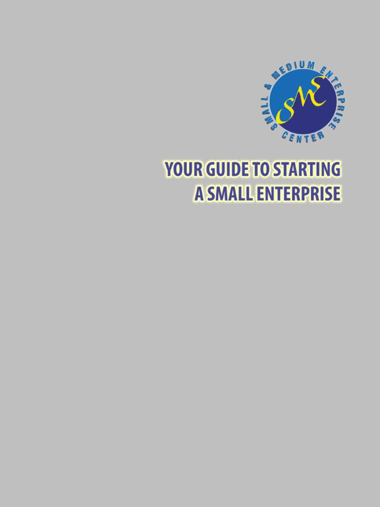 Your guide to starting a small enterprise entrepreneurship small your guide to starting a small enterprise entrepreneurship small business fandeluxe Image collections