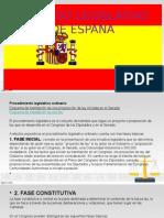 Proceso Legislativo de España