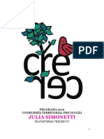 Programa 2016 CT Psicología Julia Simonetti