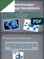 Perkembangan Teknologi Handphone
