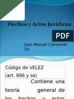 Hechos y Actos Jurídicos. Curso intensivo de capacitación Jujuy