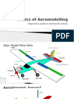 Aeromodelling Basics & Dynamics