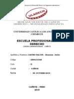 DERECHO DE ASOCIACION