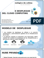 Modelos de Despliegue Del Cloud Computing.