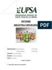 Descripción Del Proceso Productivo Cerveza