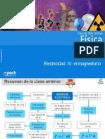 Clase 10 Electricidad IV El Magnetismo