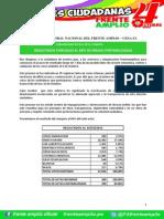 Comunicado 013-2015-CENAFA Resultados Al 83%