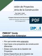 Gestion de Proyectos en Construccion