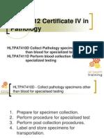 Hlt41812 - Hltpat410d-Hltpat411d Specialised Testing