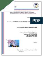 CONTROL DE CALIDAD PRECISIÓN (VCR Y VCO) (MÉTODO FOTOMÉTRICO)