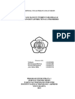 Proposal Tugas Perancangan Mesin
