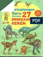 Petualangan Seru Bersama 27 Dinosaurus Keren