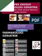 Farmakologi Geriatri