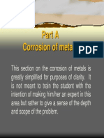 Corrosion of Steel Part A