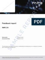 Feedback Report Page 1 3