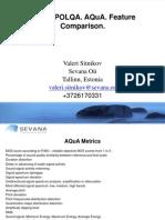 PESQ.polqA.aqua Feature Comparison