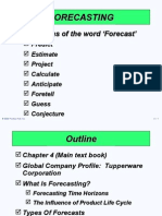 managing inventory Forecasting