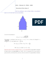 Cálculo II - Lista 03 - Resolução 29
