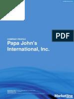 SWOT-Papa John's