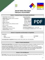 Msds Methylene Chloride