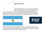 Article   Argentina Reprocity Fee (6)