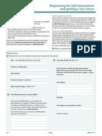 Registering for a Tax Return