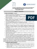 Conţinutul Dosarelor de Înscriere La Grade Didactice, Oct.2015