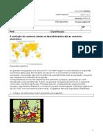 Ficha de Trabalho Nº8 - A Historiado Comercio