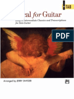Classical for Guitar [Easy to Intermediate]_snyder