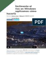 Activa Fácilmente El Modo Dios en Windows 10