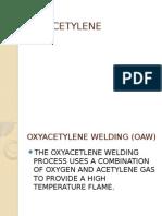 Oxyacetylene