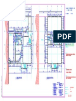 A-01-Main and Second Floor Plan
