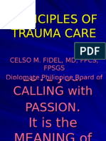 Principles of Trauma Care