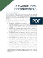 Tema 8 Magnitudes Macroeconómincas