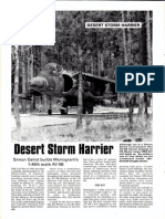 Desert Storm Harrier (Monogram 48) - SAM September 93